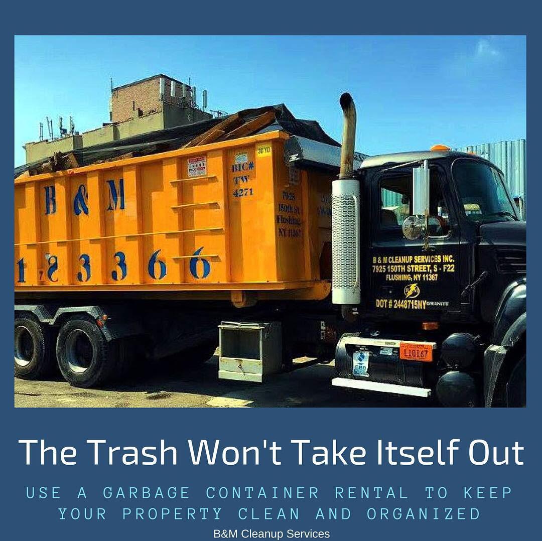 The trash won't take itself out